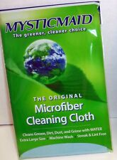 Mystic Maid Original Microfiber Cleaning Cloths Kitchen Eco Friendly Teal