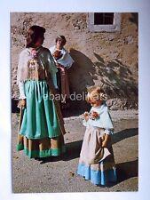 TRIESTE MONRUPINO REPENTABOR Opicina costumi Carso vecchia cartolina
