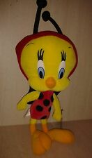 "Tweety Bird Plush 16"" Ladybug Costume Looney Tunes Warner Bros."
