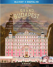 The Grand Budapest Hotel (Blu-ray Disc & Digital HD, 2014) NEW & FACTORY SEALED