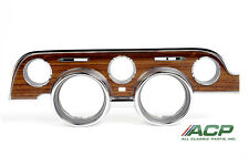 1968 68 Ford Mustang or Shelby Instrument Bezel Woodgrain In Stock Free Shipping