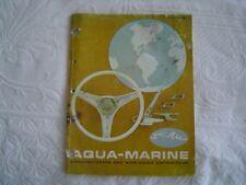 Aqua Marine Parts & Equipment M2568 M25275 WATER SKIS M8900 DEPTH FINDER Catalog