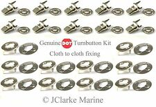 DOT - Turnbutton Common Sense fastener kit cloth to cloth boat canopy cover