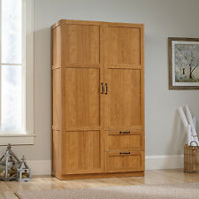 Wardrobe/Storage Cabinet - Highland Oak finish (420063)