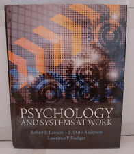 Psychology and Systems at Work by Anderson, Lawson & Rudiger 2012