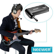 Neewer Portable Electric Guitar Plug Mini Headphone Amp Amplifier(Metal) FX#18