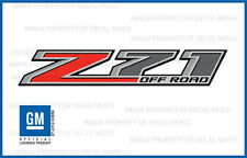 set of 2: 2015 Z71 Off Road Decals - F stickers Parts Chevy Silverado GMC Sierra