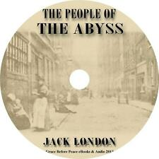The People of the Abyss, Jack London Society in England Audiobook on 1 MP3 CD