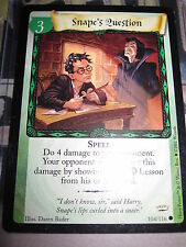 HARRY POTTER TRADING CARD GAME TCG SNAPE'S QUESTION PROMO RARE ENGLISH MINT