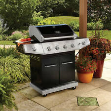 Gas Propane Grill 4 Burner Stainless Steel Barbecue Outdoor Patio Cooking BBQ