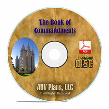 Book of Commandments, 1833, PDF, Mormon Bible Study Joseph Smith Christ CD F34