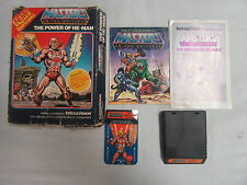 Intellivision Masters of the Universe Power of He-man Video Game in Box RARE
