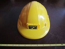 Halloween Costume Tool Hard hat Helmet yellow play Kids Dress up worker builder