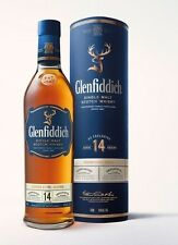 Glenfiddich 14 anni BOURBON BARREL-US Exclusive!!! 43%/0,75 L/NUOVO & OVP!!!