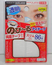 Double Eyelid Tape Clear Made In Japan 86pcs Make Your Eyes bigger