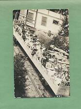 MANITOU INCLINE In MANITOU SPRINGS, CO On Fabulous Vintage REAL PHOTO Postcard