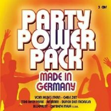 PARTY POWER PACK-MADE IN GERMANY 3 CD NEU