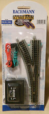 Bachmann N Scale E-Z Track Remote Left Hand Switch #44861 Ships Free in US