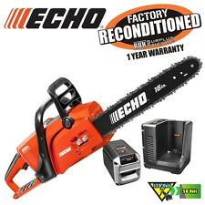 ECHO CCS-58V4AH 16 in. 58V Li-Ion Brushless Cordless Chainsaw Kit Reconditioned
