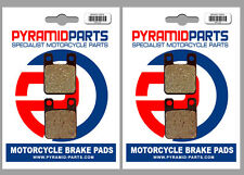 Aprilia TX 312 M 1988 Front & Rear Brake Pads Full Set (2 Pairs)