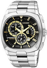 Men's Citizen Chronograph Steel Watch AN9000-53E