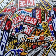 80 Mixed Random Sticker Decal Car ATV Bike Racing Helmet Motorcross Dirt BMX