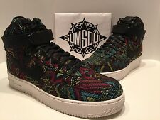 NIKE AIR FORCE 1 HIGH BHM QS BLACK HISTORY MONTH SUMMIT WHITE 836227 001 sz 14