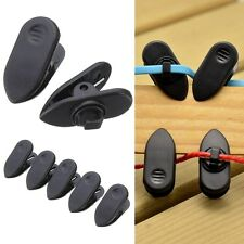 10X/Set Headphone Earphone Cable Wire Cord Lapel Collar Clip Nip Clamp Holder