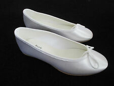 Pure & Precious Junior Prima Satin Communion Bridesmaid Shoes Size 30.5EU