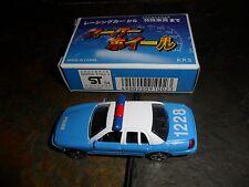 MINT POLICE MOTOR MAX DIECAST METAL MINI CAR CROWN VICTORIA INTERCEPTOR BOX 6016