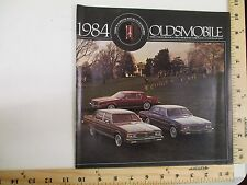 1984 Oldsmobile 98 Regency/Delta 88 Royale/Toronado/Custom Cruiser Car Brochure