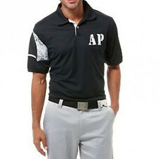 Brand New Arnie Arnold Palmer Victory Short Sleeve Solid Pique Polo Black Size M