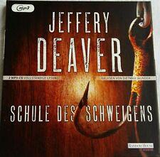 Schule des Schweigens von Jeffery Deaver (2016) - NEU & OVP