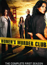Women's Murder Club (3 disc) DVD, Season One, Watched Once