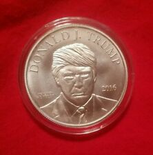 (2) Donald Trump 2016 Election Silver Rounds Make America Great Again