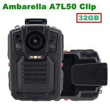 1296P 32G Infrared Night Vision Police Body Worn Video Camera Security Camera