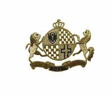 "#2334M 5"" Royal Crown,Lion,Horse w/ROYAL word Embroidery Iron On Applique Patch"
