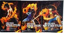 Anime One Piece Attack Styling Luffy Ace Sabo Brotherhood 3pcs Figure New in Box