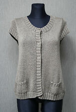 MARC O`POLO Damen Jacke M khaki Pullover Strickjacke TOP :28