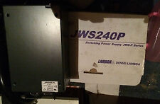 LAMBDA MODEL JWS240P-24 24V 10A PEAK 20A POWER SUPPLY