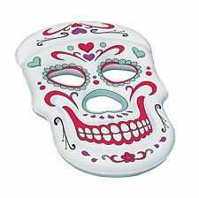 Swimline Giant Inflatable Sugar Skull Pool Float