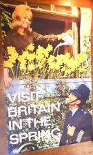 GREAT BRITAIN VISIT BRITAIN IN THE SPRING 62 Vintage TOURISM TRAVEL poster 20x30