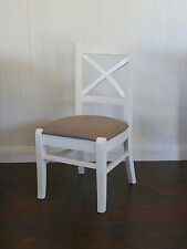Cross Back Dining Chair-Cafe Chairs-Commercial Chairs-Free Delivery