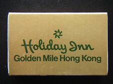HOLIDAY INN GOLDEN MILE HONG KONG 50 NATHAN RD KOWLOON 3 696111 GOLD MATCHBOX