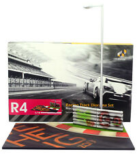 1/18 Tiny R4 Nurburgring Circuit Curve diorama, with working light - NEW IN BOX