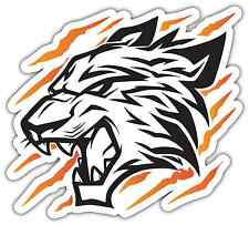 "Tiger Tribal Flame Fire Car Bumper Window Vinyl Sticker Decal 4.6""X4.6"""