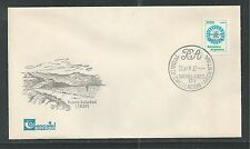 ARGENTINA # 1338 ARGENTINA'S CLAIM ON THE FALKLAND ISLANDS OVERPRINT FDC