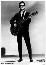 """ROY ORBISON top of the pops studios 1967,34""""x24"""" Poster"""
