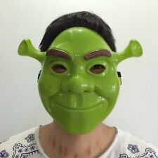 NEW BOYS MENS HALLOWEEN  PARTY BALL SHREK MASK ONE SIZE FANCY DRESS COSTUME