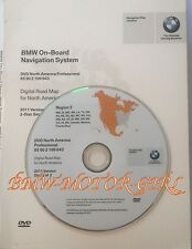 BMW 1 Series & 3 Series Navigation DVD # 843 Canada Mexico PR Map Edition © 2011